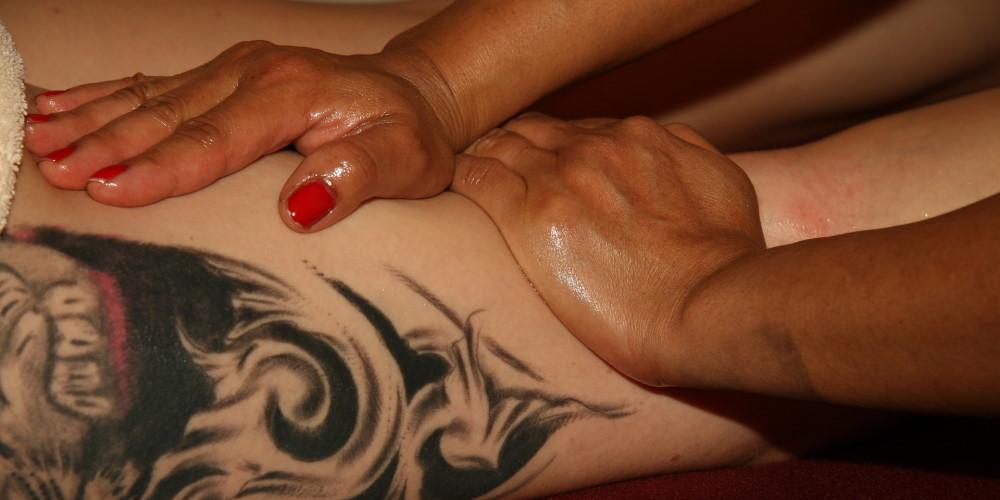 a woman during Massage Escort Vienna